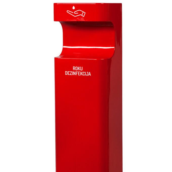 Bezkontakta (sensora) stends / dozators / dispensers roku dezinfekcijai, PRO 6